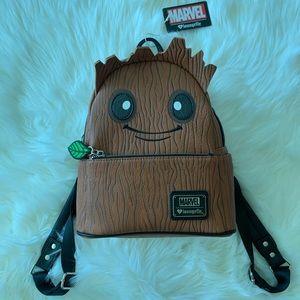 Marvel Groot NWT Loungefly MINI backpack